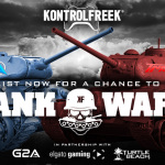 KontrolFreek's Tank Wars featuring Ali-A and TmarTn is an interactive real-world contest that will see the two YouTubers battle it out in a series of WWII-themed activities ranging from driving a tank and crushing cars to shooting machine guns. (Photo: Business Wire)