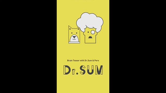 跟Dr. SUM一起玩这个有趣的加算游戏!
