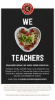 Chipotle celebrates teachers with a Buy One, Get One offer on May 2. (Graphic: Business Wire)