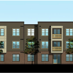 HQ Flats Building A Front Rendering (Graphic: Business Wire)