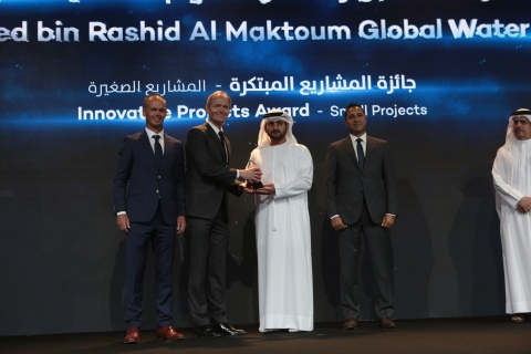 CATEGORY INNOVATIVE PROJECTS AWARD - SMALL PROJECTS 3RD PLACE SOLAR WATER SOLUTIONS, FINLAND AND P7 GLOBAL, UAE - (Photo: ME NewsWire)