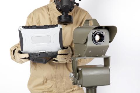 Bertin's Second Sight®MS standoff gas-detection camera (Photo: Bertin)