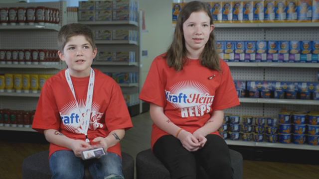"Asked to explain what their parents do all day at The Kraft Heinz Company, kids said the darndest things in a new video filmed during the company's first-ever ""Take Your Sons & Daughters To Work Day."""