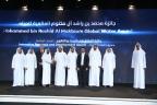 Sua Altezza lo Sceicco Maktoum bin Mohammed bin Rashid Al Maktoum premia 10vincitori di otto Paesi al Global Water Award intitolato a Mohammed bin Rashid Al Maktoum