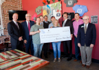 On April 27, 2017, American State Bank and the Federal Home Loan Bank of Dallas awarded a $20,000 Economic Development Program Plus grant to ETX Brewing Company, a new craft brewery at 221 S. Broadway in Tyler, Texas (Photo: Business Wire)