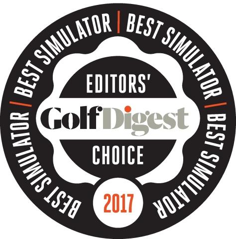 "GOLFZON的VISION高尔夫模拟器被选为美权威高尔夫杂志《高尔夫大师》Editors' Choice.(株)GOLFZON(KOSDAQ:215000)以模拟技术雄厚享誉国内外。GOLFZON VISION 高尔夫模拟器被选为美国高尔夫杂志《高尔夫大师》每年评选的""Editors' Choice""最佳高尔夫模拟器。 (图示:美国商业资讯)"