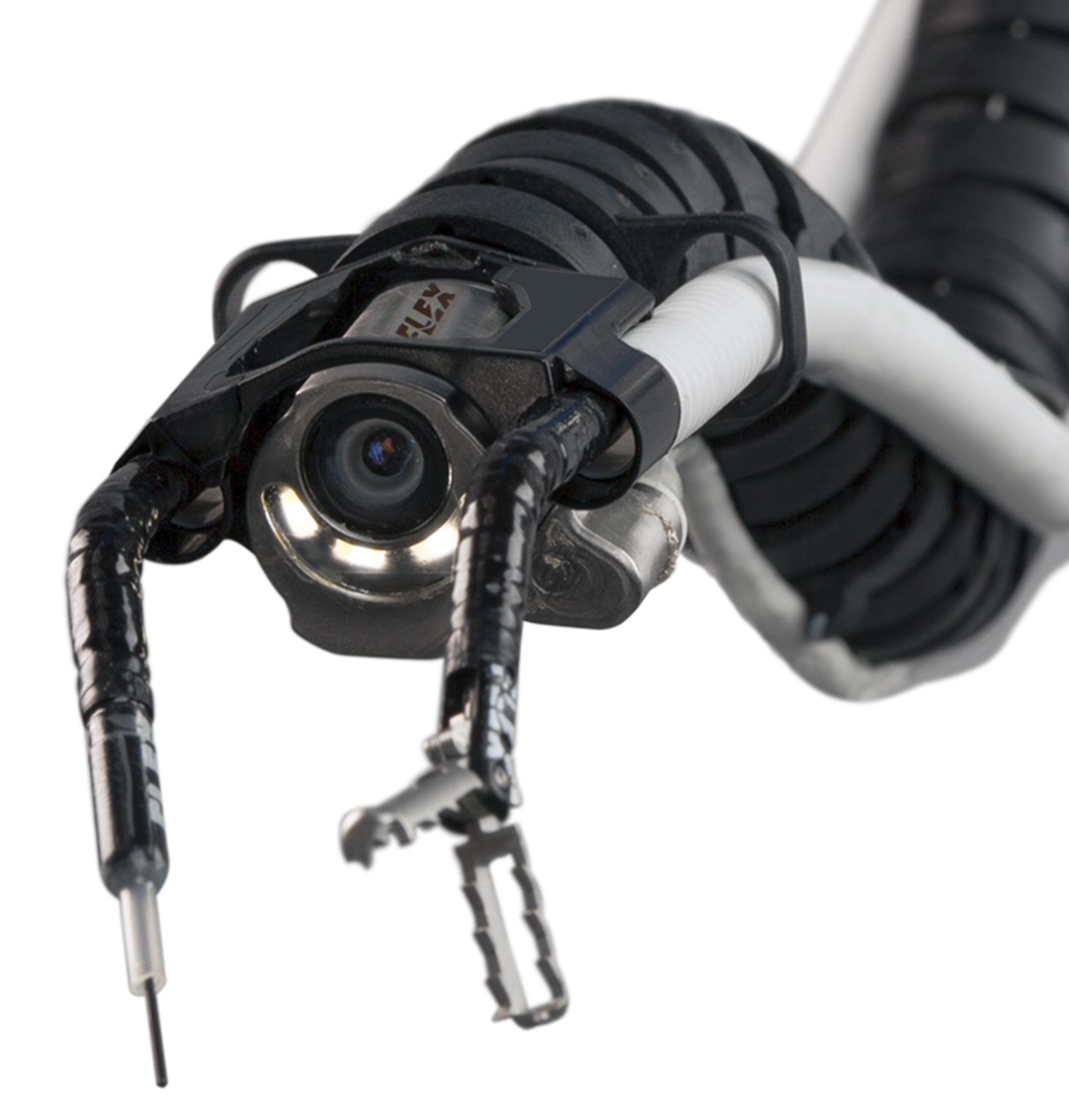 The Flex® Robotic System allows surgeons to navigate complex anatomy and operate in hard-to-reach anatomical locations. (Photo: Business Wire)