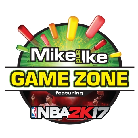 six flags and just born team up to host the mike and ike