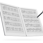GVIDO, the world's first dual screen e-paper music score device, by Terrada Music Score Co., Ltd. featuring E Ink technology. (Photo: Business Wire)