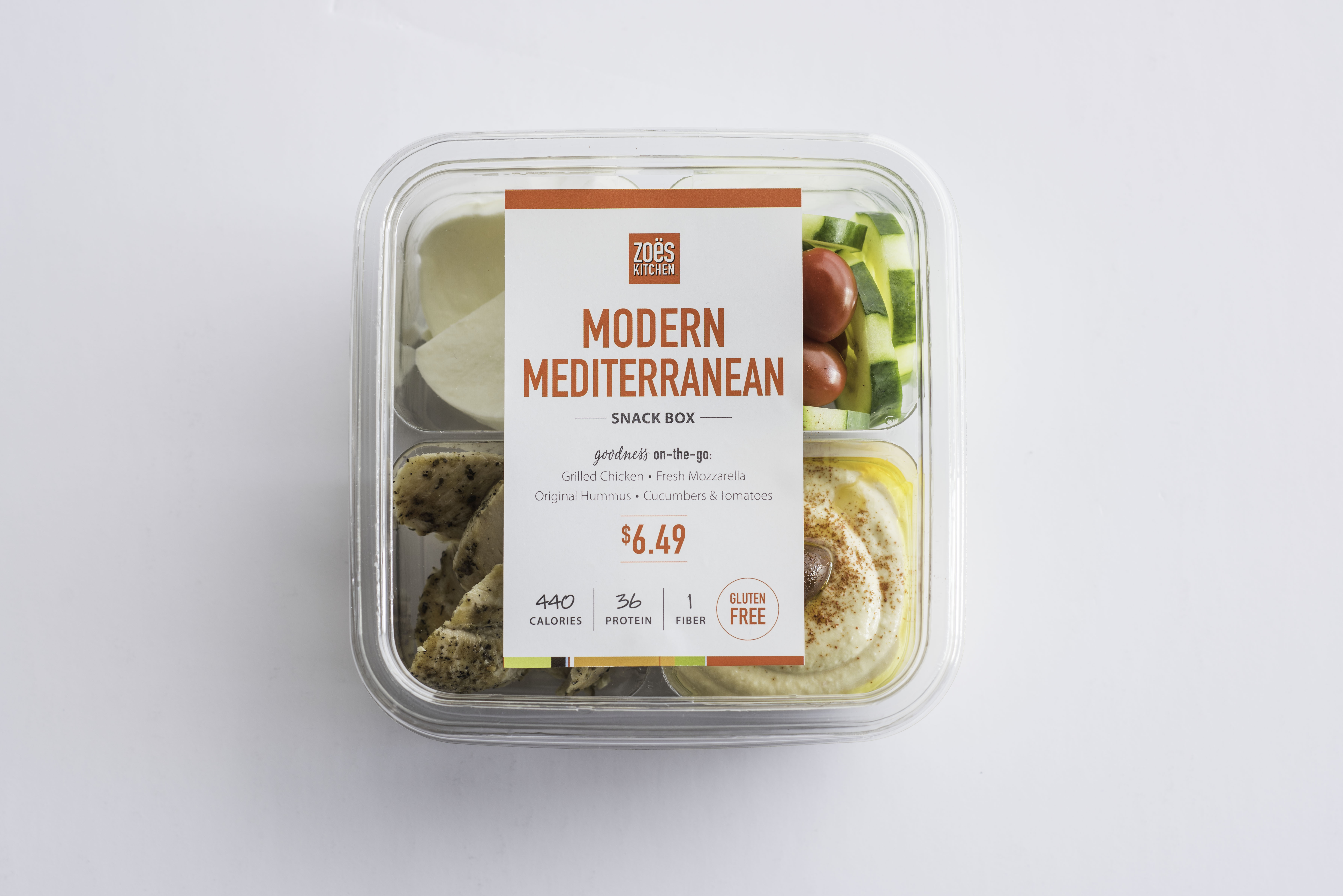 Zoës Kitchen Kicks Off National Mediterranean Diet Month with Launch of New Snack Boxes and New Quinoa Salad | Business Wire