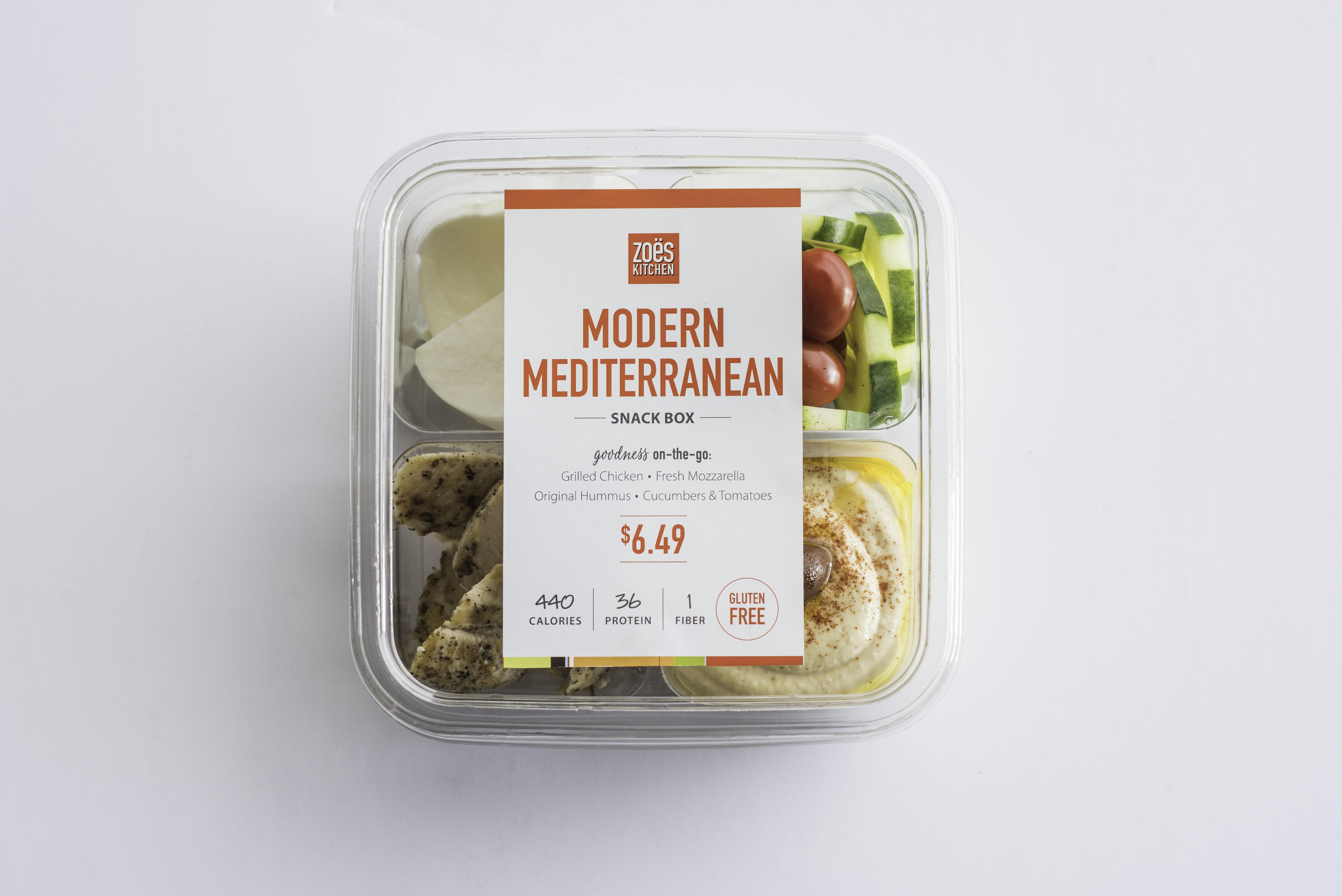 Zoës Kitchen Kicks Off National Mediterranean Diet Month with