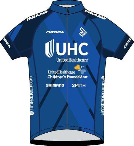 Uniform to be worn by UnitedHealthcare Pro Cycling Team to promote UnitedHealthcare Children's Foundation (Photo: UnitedHealthcare Children's Foundation).