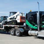 Big Freight Systems truck - Big Freight Systems, a Canadian asset-based trucking and freight management company, operates a fleet consisting of flatbed, retractable curtain, specialized double hard-side and drop-deck trailers. (Photo: Business Wire)