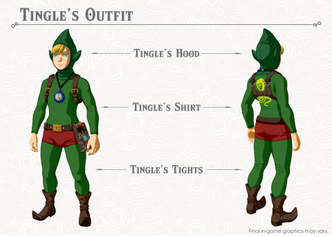 Eight new pieces of equipment inspired by previous characters and games in the series will be added to The Legend of Zelda: Breath of the Wild after downloading the first DLC pack. (Graphic: Business Wire)