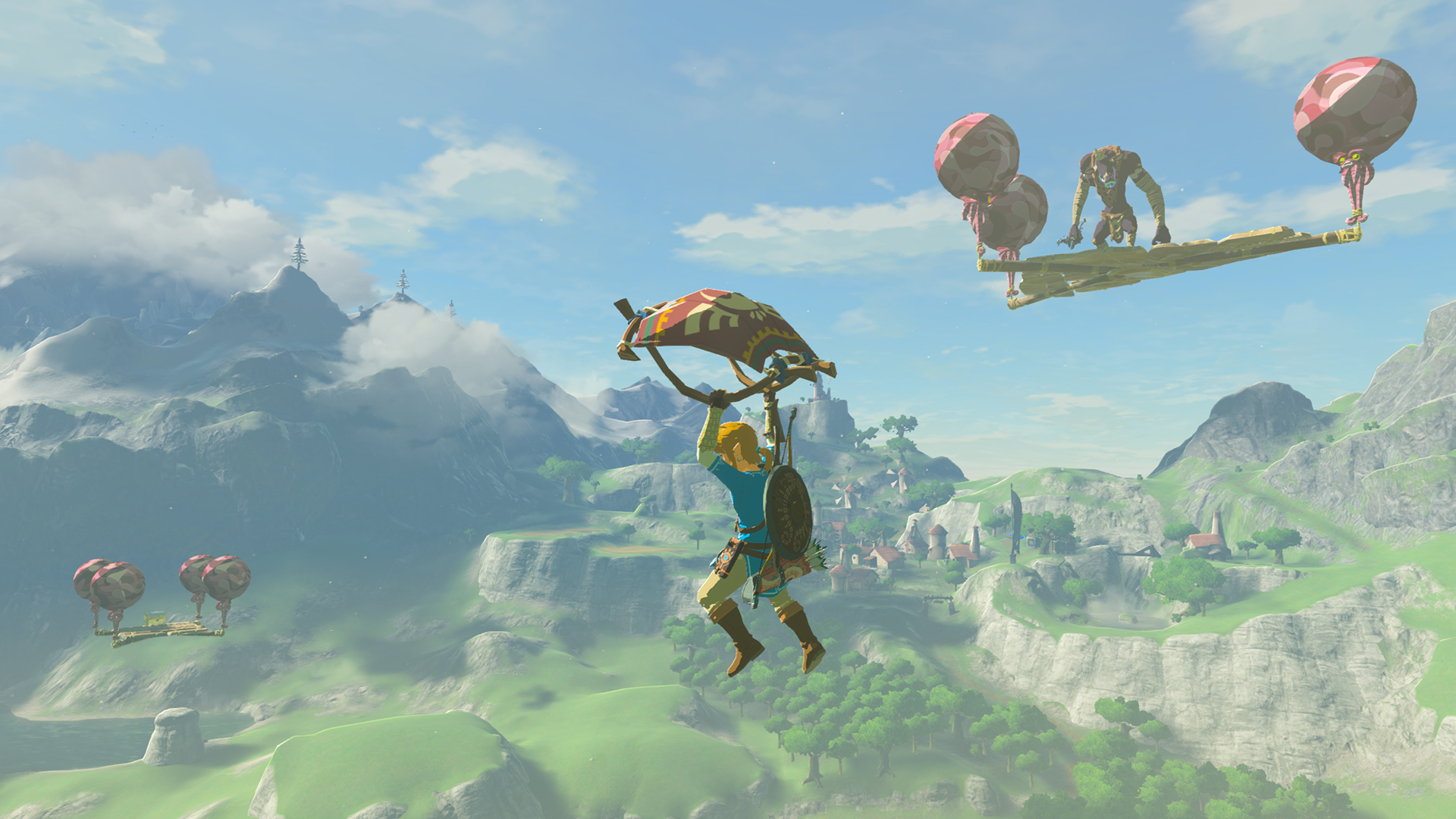 The Legend of Zelda: Breath of the Wild is already considered one of the most thrilling games in The Legend of Zelda series, and fans looking for a challenge are in for a treat with the new Hard Mode. (Graphic: Business Wire)