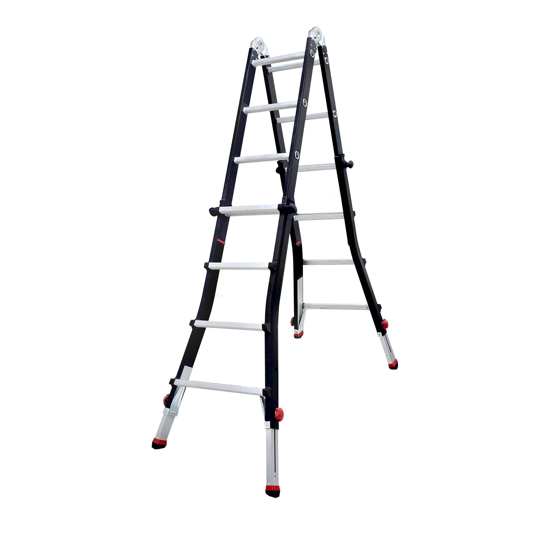 Dofair Telescopic Folding Ladder with Extending Feet (Photo: Business Wire)