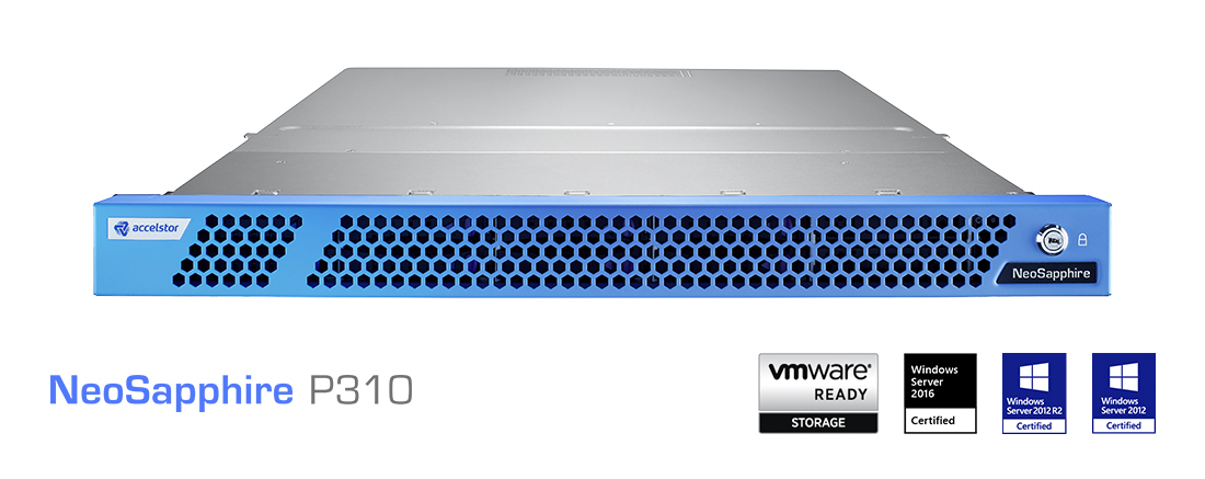 AccelStor's New All-NVMe Flash Array: NeoSapphire P310 (Photo: Business Wire)