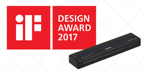 "BMS' PocketJet 773 full-page mobile printer has been named a winner in iF International Forum's ""iF DESIGN AWARD 2017"" in the Product Design category (Graphic: Business Wire)"