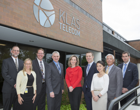 Congresswoman Barbara Comstock visited the Klas Telecom Government office in Herndon, Virginia on Monday. (Photo: Business Wire)