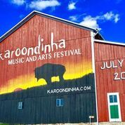 Karoondinha Music & Arts Festival barn mural at Penn's Cave & Wildlife Park