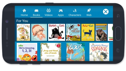 Amazon FreeTime Now on Android Devices (Photo: Business Wire)