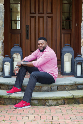 Baseball slugger David Ortiz signs on with Skechers (Photo: Business Wire)