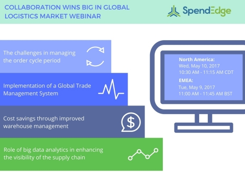 SpendEdge is hosting a webinar on streamlining logistics and warehousing in direct distribution markets. (Graphic: Business Wire)