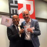 Alex Vieux, Publisher and CEO of Red Herring, with Marc Berrebi, co-founder of eDevice. (Photo: eDevice)