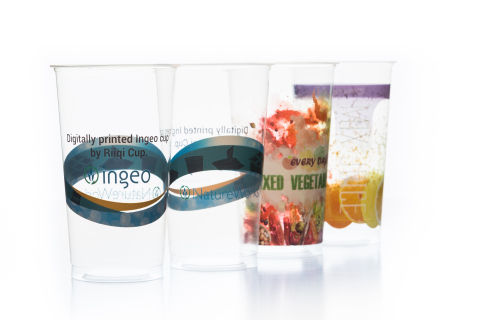 The latest in Swiss digital printing technology applied to cold cups by See Box not only provides an entire new level of vibrant graphics it offers the ability for mass customization - lot size of one. (Photo: Business Wire)