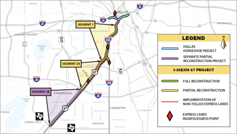 Fluor Joint Venture Selected for Texas Southern Gateway Project. (Graphic: Business Wire)