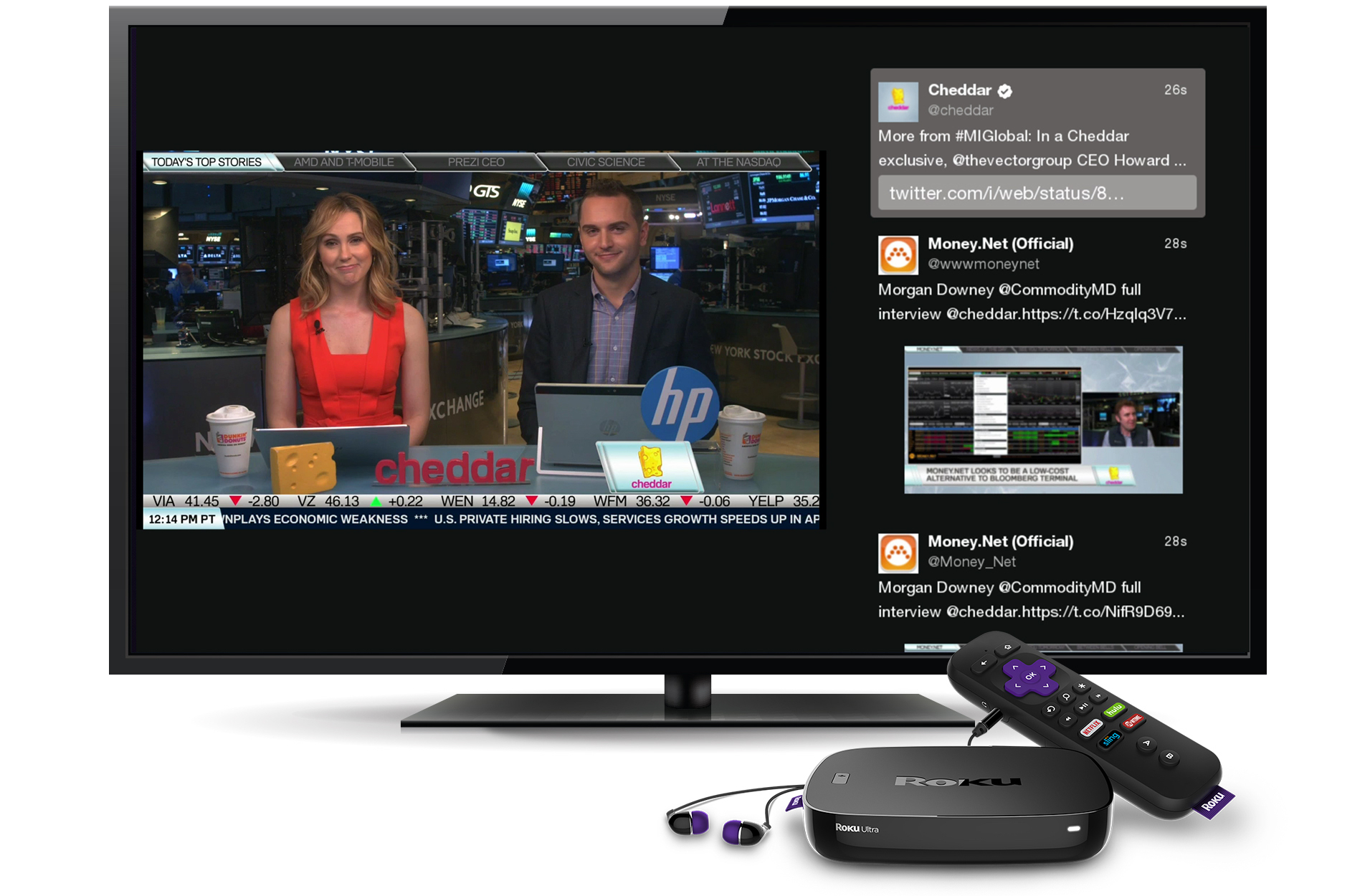 Twitter Launches Live Streaming Channel on Roku