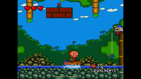Bonk is back in this TurboGrafx-16 sequel! (Photo: Business Wire)