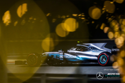 Axalta's Spies Hecker products have been selected to paint the livery of the 2017 Mercedes-AMG F1 W08 EQ Power+ car (Photo: Axalta)