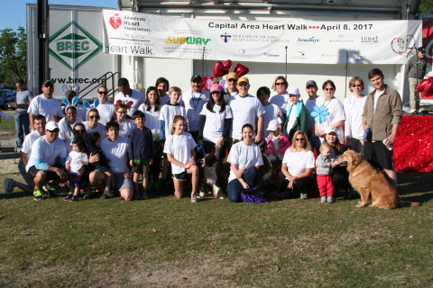 eQHealth Solutions raised nearly $19,000 and ranked as a top corporate fundraiser and sponsor in the American Heart Association (AHA) 2017 Capital Area Heart Walk. (Photo: Business Wire)