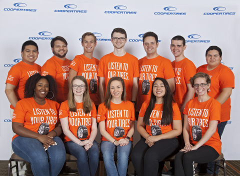 Tread Wisely ambassadors pictured left to right in the first row include Tamia Catoe, Izabella Lileas, Shelby Griffith, Chantalle Lopez, and Julia Schemmer. Ambassadors in the back row pictured left to right are Andre Ragel, Spencer Mercado, Craig Collins, Christian Davell, Bryan Delaney, Thomas Brennan, and Juan Salazar. Ambassadors not pictured include Crystal Battaille and Annika Sidhu. (Photo: Business Wire)
