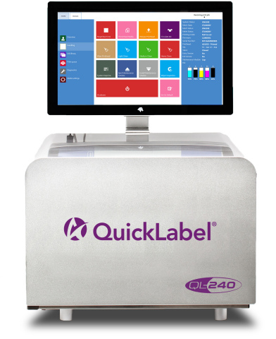 "Featuring resolution up to 1600 dpi and print speeds up to 12""/second, AstroNova's QL-240 color labe ..."