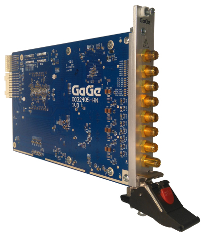 GaGe RazorMax Express 3U PXIe Gen3 16-Bit, 1 GS/s, 4-Channel Digitizer (Photo: Business Wire)