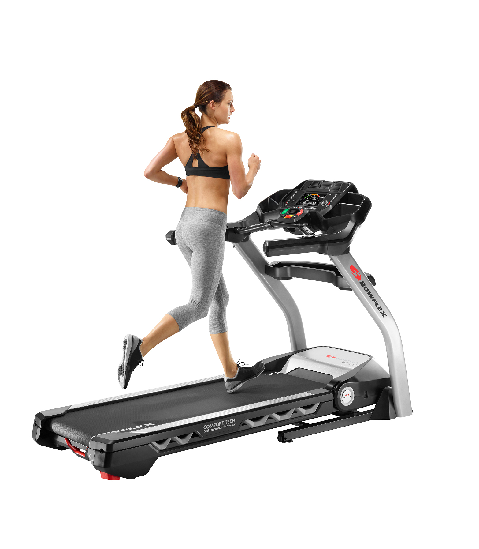 The top-of-the-line Bowflex® BXT216 treadmill allows users to burn calories while staying motivated by the machine's groundbreaking Burn Rate display console. (Photo: Business Wire)