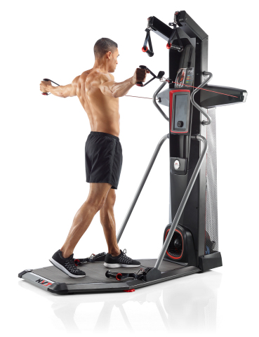 The new Bowflex® HVT™ machine offers Hybrid Velocity Training, a unique approach to fitness that com ...