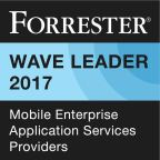 Accenture positioned as a leader in Mobile Enterprise Applications Services report (Graphic: Business Wire)