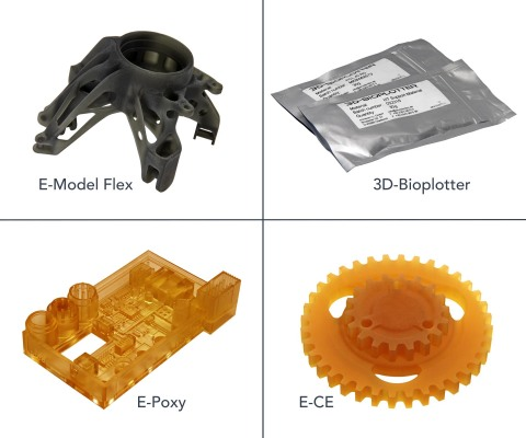 EnvisionTEC is launching seven new materials at RAPID + TCT in Pittsburgh. That includes four new research-grade materials for its 3D-Bioplotter and three new engineering-grade materials for its Desktop, Perfactory and 3SP printers. (Photo: Business Wire)