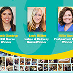 To celebrate Nurse Appreciation Week, Pampers Swaddlers announces the winners of the Thank You Nurses awards. (Photo: Business Wire)