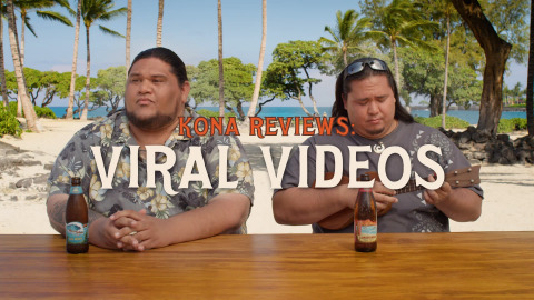 "The Kona Bruddahs remind mainlanders to have some real-life fun as they ""review"" a few of the ways we get stuck to our screens in new work from Kona Brewing Co.'s ""Dear Mainland"" campaign created by Duncan Channon. (Photo: Business Wire)"
