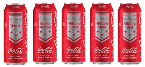 Dollar General Announces Exclusive Share a Coke® Military Campaign (Photo: Business Wire)