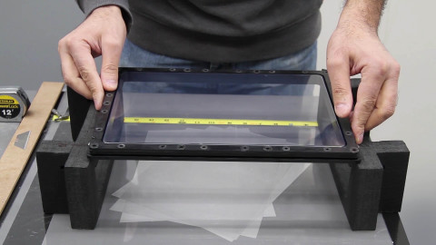 Users of EnvisionTEC 3SP models with a Pre-Stretched Assembly (PSA) can now purchase a Field-Stretchable Assembly Kit (FSA) that allows users to replace films on their own, saving time and money. (Photo: Business Wire)
