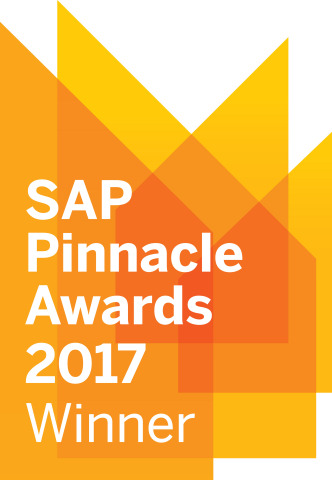 Accenture recognized with three 2017 SAP® Pinnacle Partner of the Year Awards for 2017 (Photo: Business Wire)