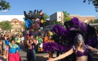 Six Flags St. Louis announces an all-new Mardi Gras Festival and Parade June 21 - July 16. The park will host the celebration with eight authentic New Orleans-style parade floats, Mardi Gras-themed décor, festive street entertainment and classic Cajun cuisine. (Photo: Business Wire)