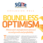 An in-depth analysis/executive summary of the 2017 State of Manufacturing® survey results written by pollster Rob Autry for Enterprise Minnesota® magazine.