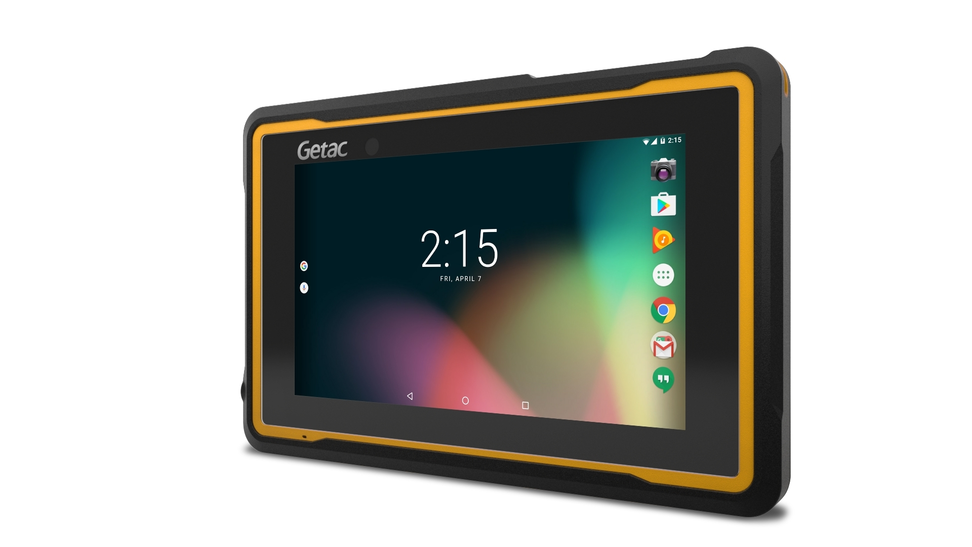 """The Getac ZX70 meets the growing needs of mobile transportation and field service professionals. The 7"""" fully rugged Android tablet is designed for one handed operation, IP67 and MIL-STD 810G certified for drops and water resistance, and offers a best-in-class battery life. (Photo: Business Wire)"""