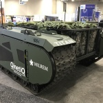 The Titan offers support for a dismounted squad. (Photo: Business Wire)